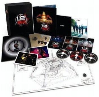 blu-ray + dvd + vinil - u2 360o at the rose bowl - lacrado