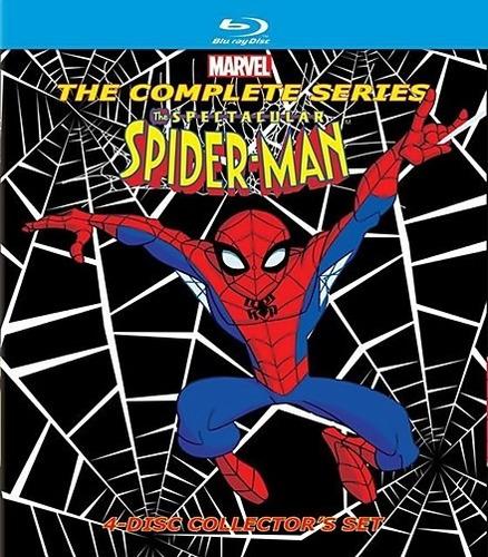 blu ray - el espectacular hombre araña (serie completa)