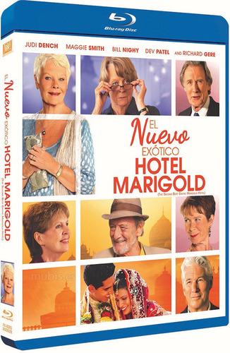 blu ray el nuevo exotico hotel marigold 2 envio gratis tampi
