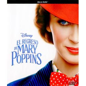 Blu Ray El Regreso De Mary Poppins Original Cerrada Nueva