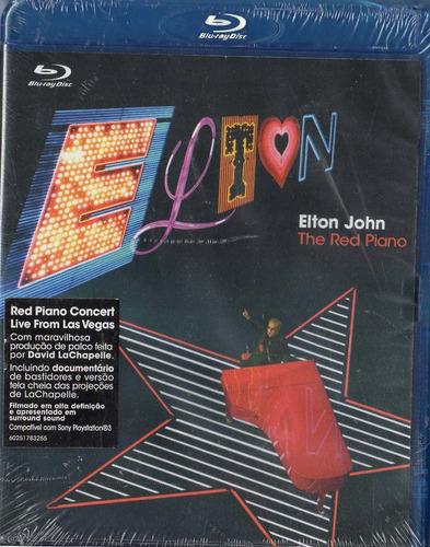 blu ray elton john - the red piano