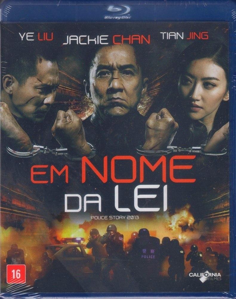 Blu Ray Em Nome Da Lei - Jackie Chan - Original Lacrado