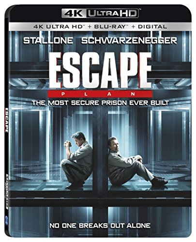 blu-ray : escape plan (with blu-ray, 4k mastering, dolby...