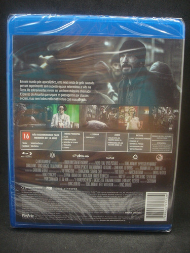 blu ray expresso do amanhã - chris evans - original