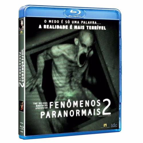 blu-ray fenômenos paranormais 2 - frete negociável ou grátis