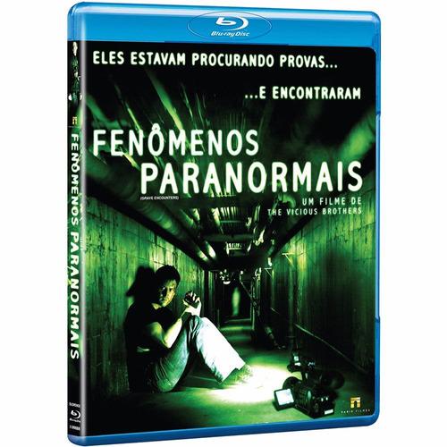 blu-ray fenômenos paranormais - frete negociável ou grátis