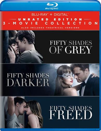 blu-ray fifty shades / 50 sombras de grey coleccion 3 films