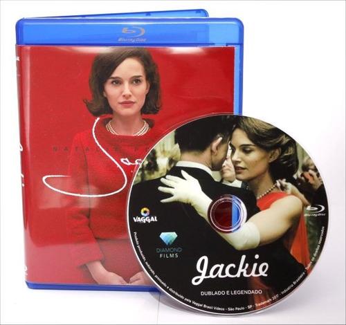 blu-ray filme jackie - 2016 - dublado e legendado