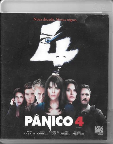 blu-ray filme pânico 4 scream terror suspense bluray bd fred