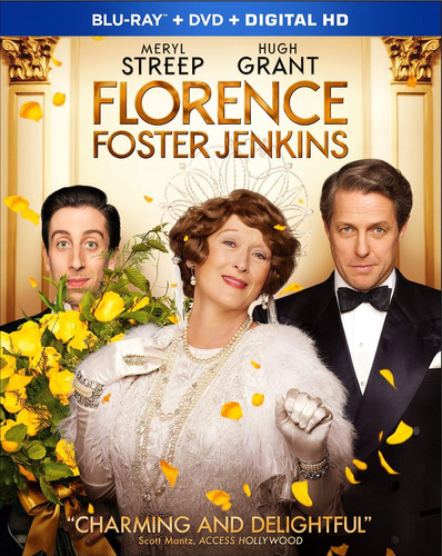 blu-ray :   - florence foster jenkins (with dvd, digital...
