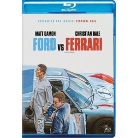 Blu Ray Ford Vs Ferrari - Indicado A 4 Oscars - Dub/leg. Lac