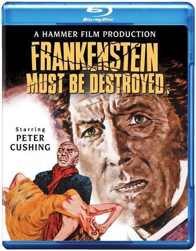 blu-ray :   - frankenstein must be destroyed (blu-ray)