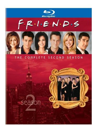 blu ray friends - 2ª temporada -  c/luva, leg - lacrado