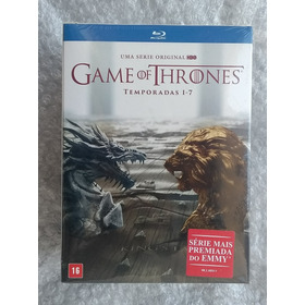 Blu-ray Game Of Thrones - Temporadas Completas 1-7 35 Discos