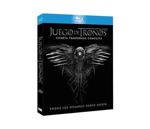 blu-ray game of thrones cuarta temporada nuevo cerrado sm