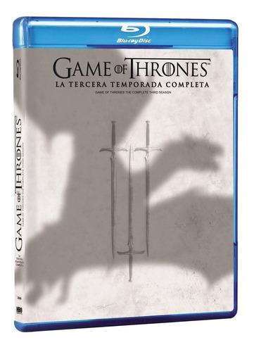 blu-ray - game of thrones - juego de tronos - temporada 3