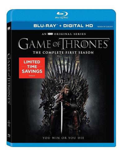 blu-ray game of thrones season 1 / temporada 1