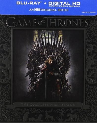 blu-ray game of thrones season 1 / temporada 1 / digipack
