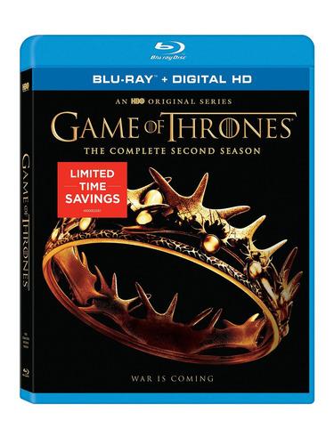 blu-ray : game of thrones: season 2 (full frame, dolby,...