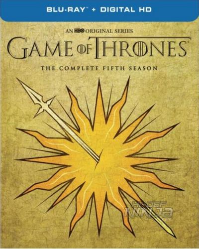 blu-ray game of thrones season 5 temporada 5 / limited sigil