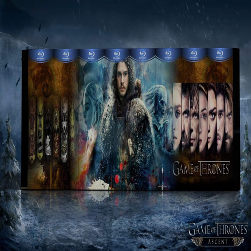 blu-ray game of thrones serie latino