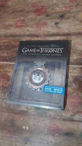 blu ray game of thrones temporada 3 steelbook con iman