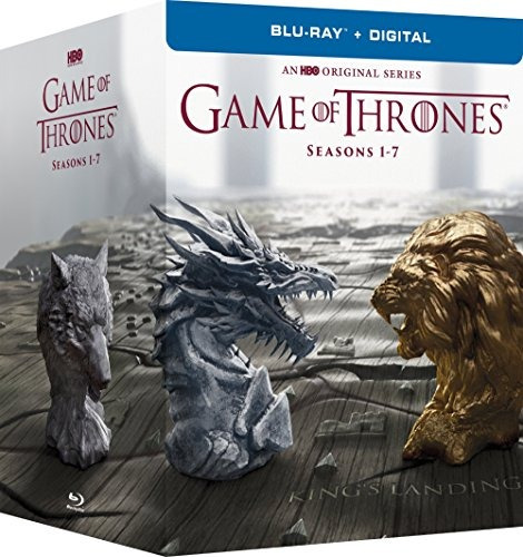 blu-ray : game of thrones: the complete seasons 1-7 (box...