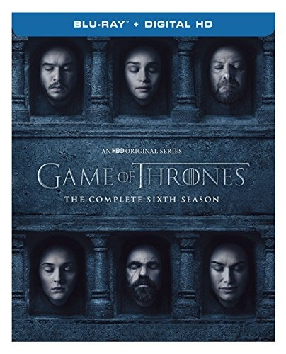 blu-ray : game of thrones: the complete sixth season...