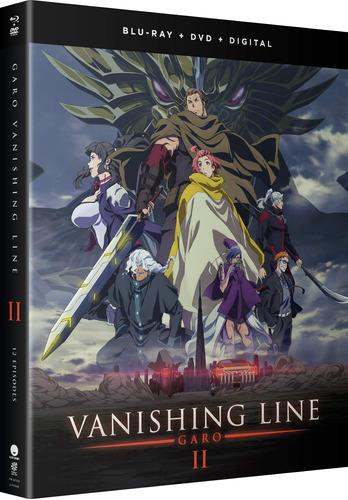 blu-ray : garo: vanishing line - part 2 (with dvd, boxed...