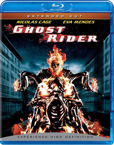 blu ray ghost rider extended cut