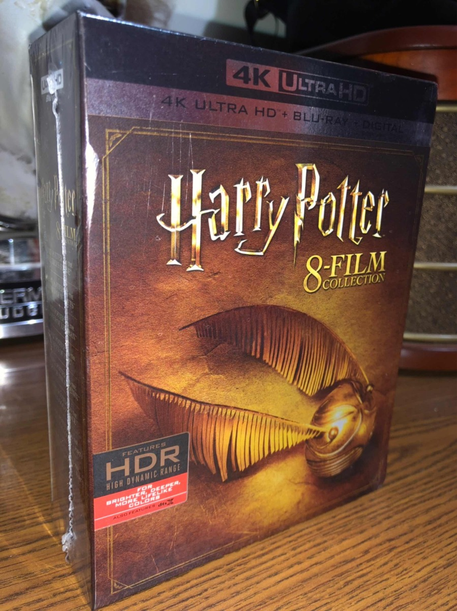 Blu Ray Harry Potter 8 Film Collection 4k +br Imp De Usa
