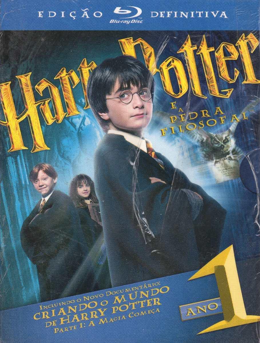 Harry Potter É A Pedra Filosofal regarding blu ray harry potter e a pedra filosofal edição definitiva - r