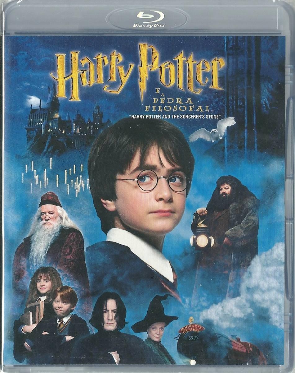 Harry Potter É A Pedra Filosofal with regard to blu-ray harry potter e a pedra filosofal - lacrado. - r$ 75,00 em