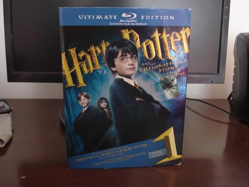 blu-ray harry potter e a pedra filosofal ultimate edition