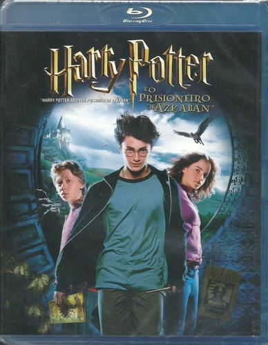 blu-ray - harry potter e o prisioneiro de azkaban