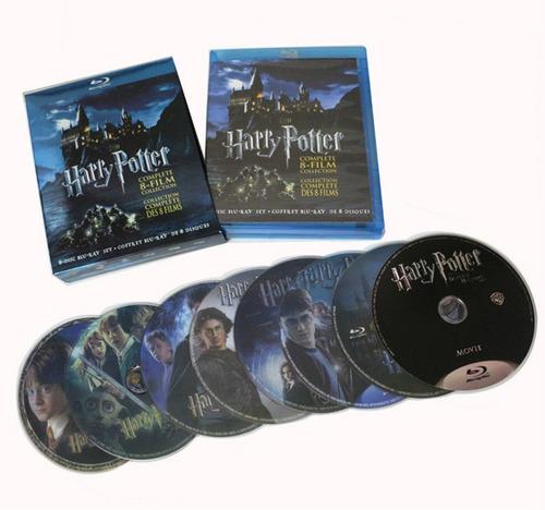 blu-ray harry potter: la colección completa de 8 películas