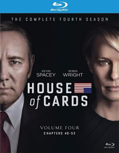 blu-ray house of cards season 4 / temporada 4