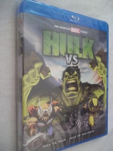 blu-ray - hulk vs thor wolverine