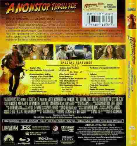 Indiana Jones y el Reino de la Calavera de Cristal,Luke Ross,Norma 2008