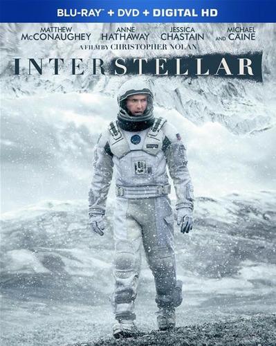 blu-ray interstellar / interestelar / bd + dvd + film cell