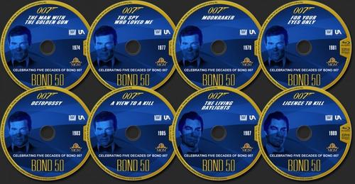 blu-ray james bond colección peliculas