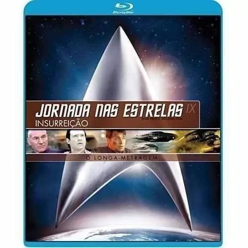 blu-ray - jornada nas estrelas ix (9) - original - lacrado