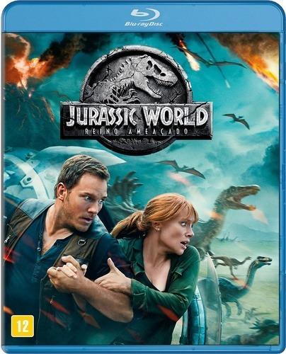 blu-ray jurassic world reino ameaçado - lacrado & original