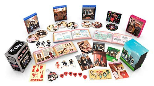 blu-ray : k-on (with booklet, anamorphic, , premium package)