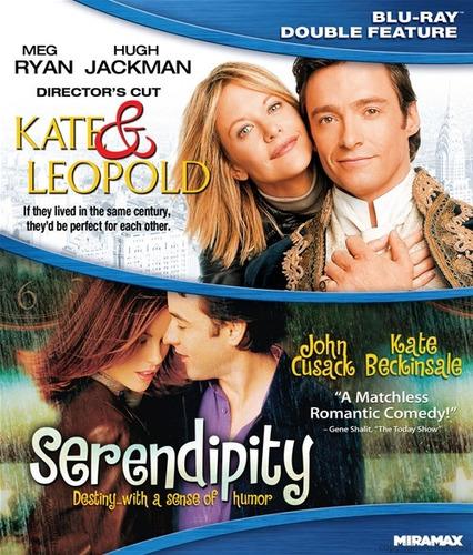 blu-ray kate & leopold + serendipity / señales de amor