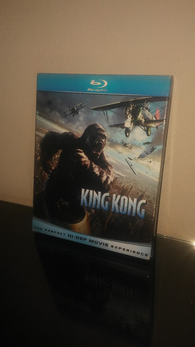 blu ray king kong (con cover)