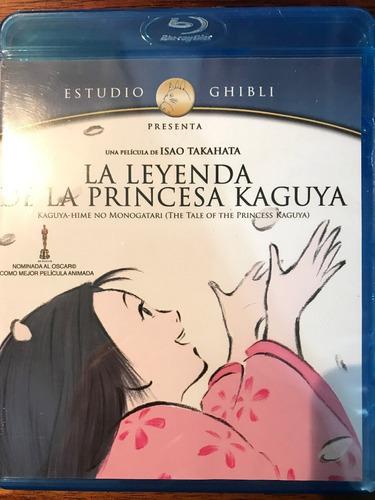 blu-ray la leyenda de la princesa kaguya / de studio ghibli