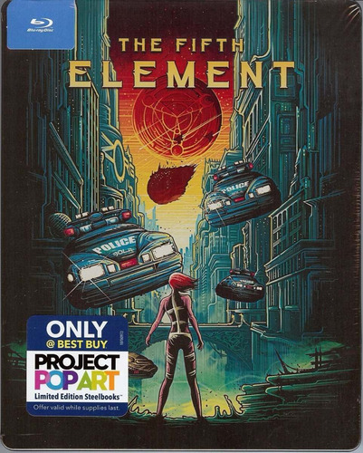 blu ray le steelbook: the fifth element by sony pictures