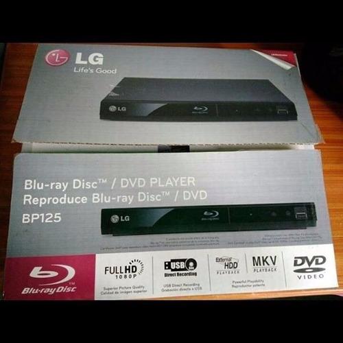 blu ray lg bp 125