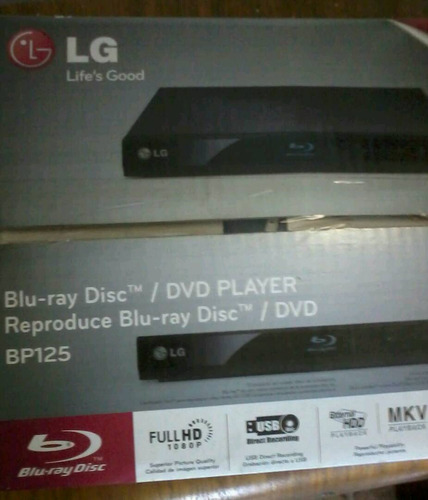 blu ray lg bp 125 full hd 1080p